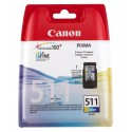 Canon CL-511 Colour Ciano, Giallo cartuccia d'inchiostro